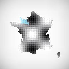 Frankreich Region Basse-Normandie