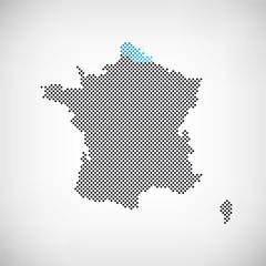 Frankreich Region Nord-Pas-de-Calais