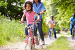 Multi Generation African American Family On Cycle Ride - 58897654