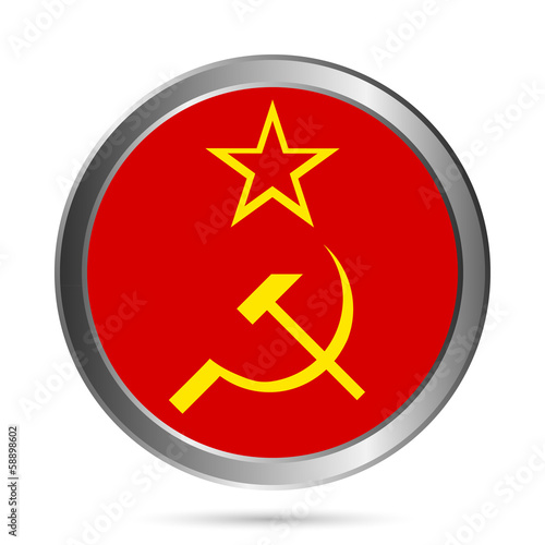 USSR flag button.