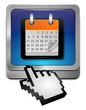 Kalender Button mit Cursor
