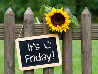 It's Friday !
