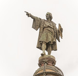 Statue of Columbus in Barcelona, Spain