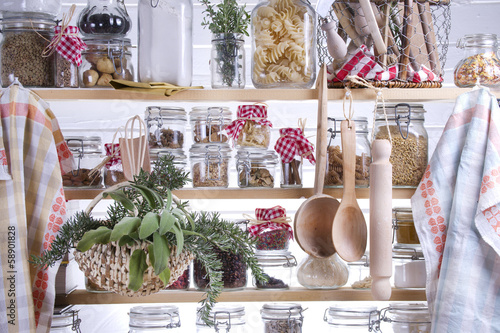 In de dag Koken Small Pantry