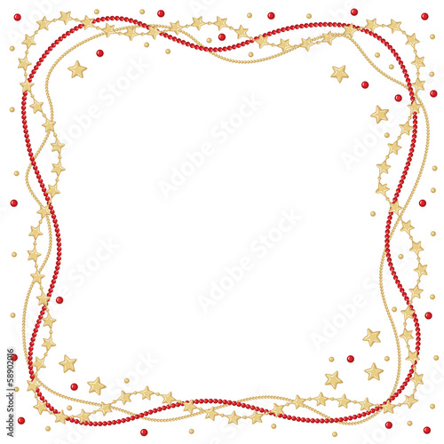 Christmas greeting frame