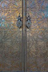 Door at Dar El Makhzen, Morocco