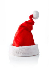 Santa hat, sloped right