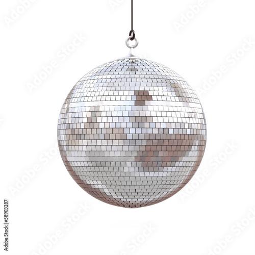 Leinwanddruck Bild disco ball