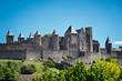 medieval city of Carcassonne, Languedoc Roussillon, France