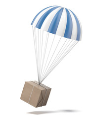 parachute with a Package