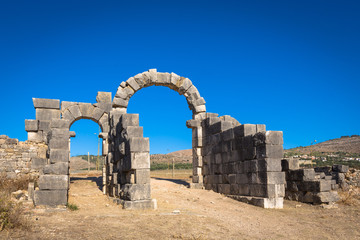 Archs of Volubilis, Morocco
