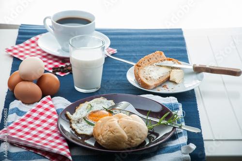 Papiers peints Buffet, Bar Soft light breakfast concept