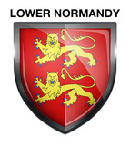 Blason Lower Normandy Region