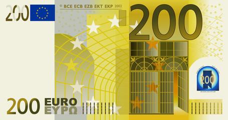 Euro 200 Vector