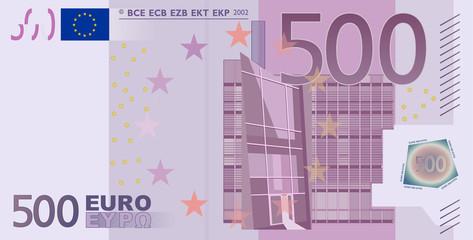 Euro 500 Vector