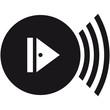 Play Symbol Vinyl Platte Loud Music DJ