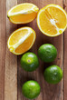 Oranges and lime