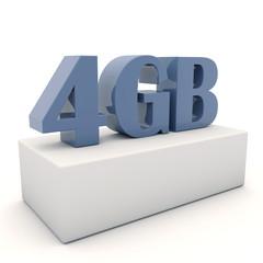 4GB Fondo Blanco