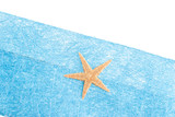 Sea star blue envelope