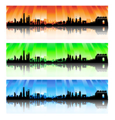 China Skyline Set