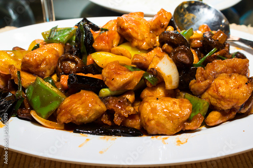 fried Chicken cashew