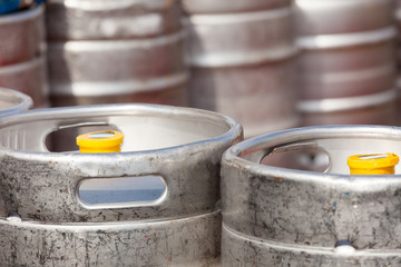 aluminum barrel beer kegs