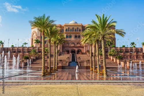 Papiers peints Abou Dabi Emirates Palace in Abu Dhab