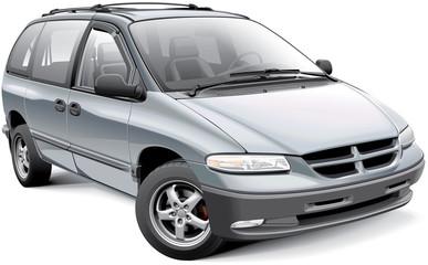 American family minivan