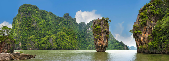 Ao Phang - nga National Park in Thailand 2
