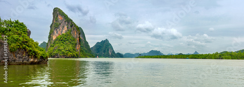Ao Phang - nga National Park in Thailand 3