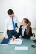 junge geschäftspartner in einer agentur