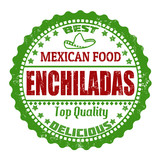 Enchiladas stamp