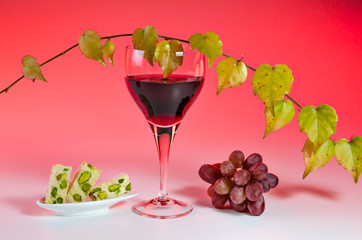 Rotwein Arrangement 8