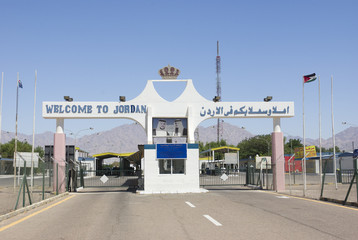 ARAVA BORDER CROSSING, ISRAEL