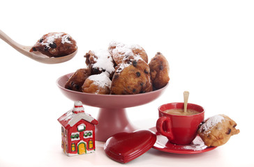 Oliebollen for the New Year