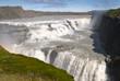 cascata gullfoss nel paesaggio Islandese