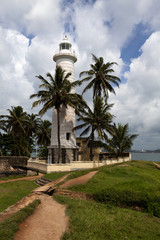 Lighthouse in Galle Fort - South Sri Lanka - Asia