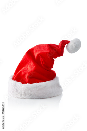 Santa hat, right strong sloped
