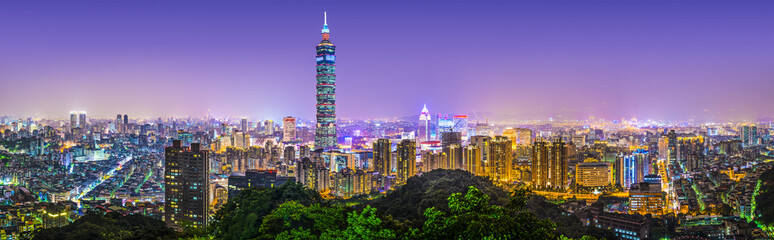 Taipei, Taiwan Panorama