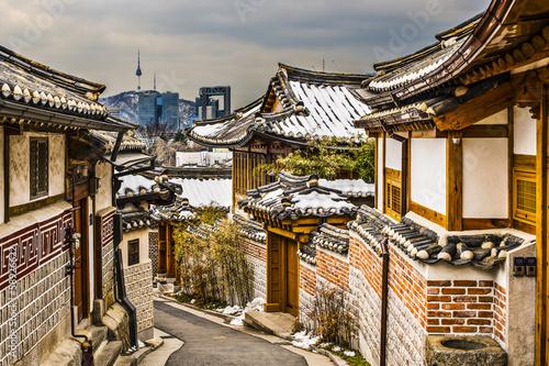 Poster Historic Neighborhood of Seoul