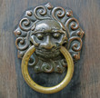 Chinese lion  doorhandle