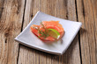 Appetizer - Smoked salmon