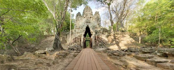 West Gate, Angkor Thom, Cambodia