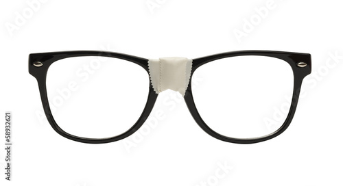 canvas print picture Nerd Glasses