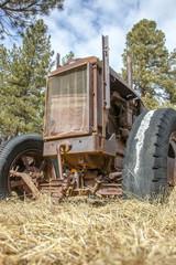 Alter Traktor in Amerika