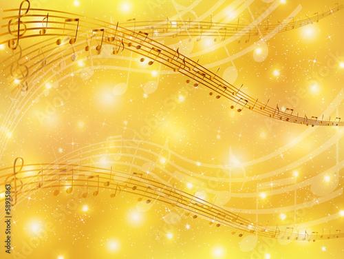 楽譜 音符 背景