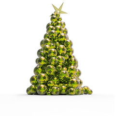 Árbol de Navidad de Bolas