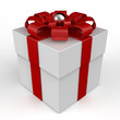 Gift Box Geschenk Cadeau Christmas White Red