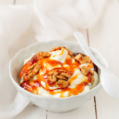 Greek Yoghurt in a Bowl