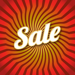 Lettering, Sale, dynamic background